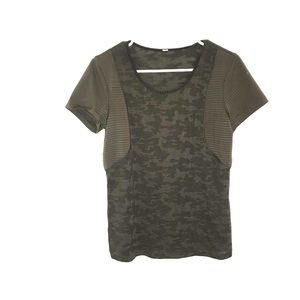 Lululemon Olive Green Top
